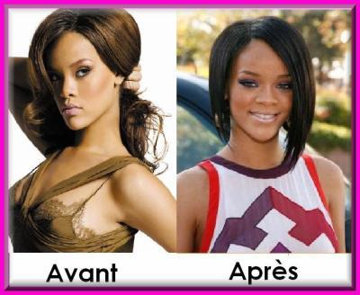 Rihanna avant apres v0t3z - Rihanna avant apres ...